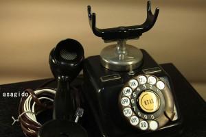 黒電話 昭和レトロ 輸入品