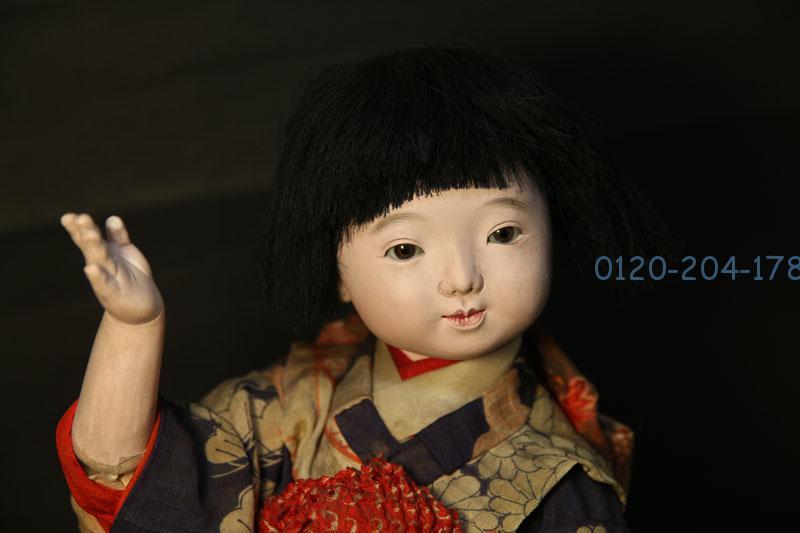 古い市松人形