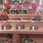 木彫雛人形。雛道具買入中
